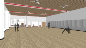 Level 2 Mezzanine - Multi-Purpose Room