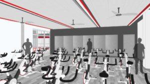 Lower Level 1 - Spin/Multi-Purpose Room