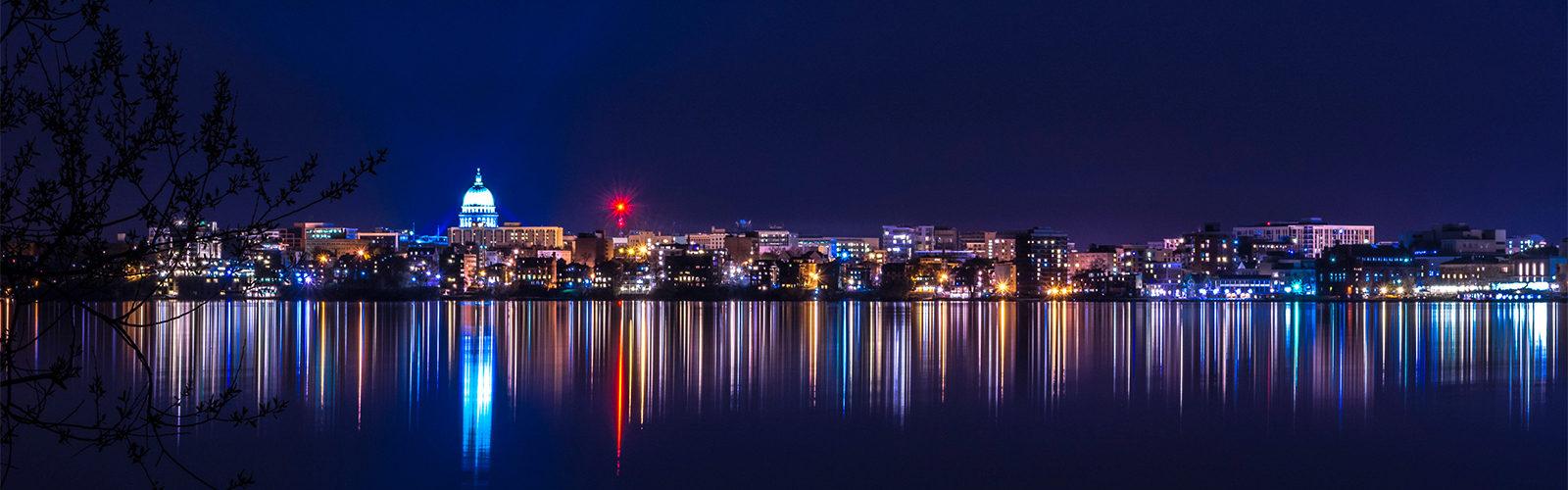 Madison, Wisconsin Skyline