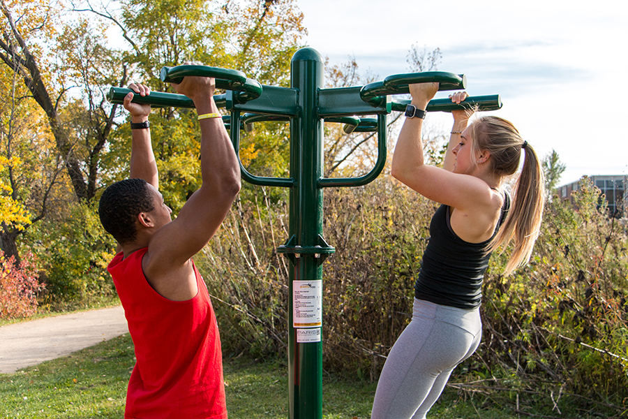Outdoor Fitness Trail