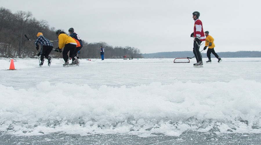 Pond Hockey hero image