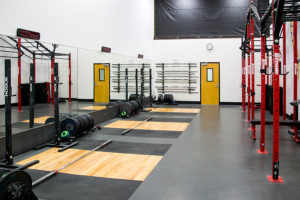Bay Three: Olympic Weightlifting Area