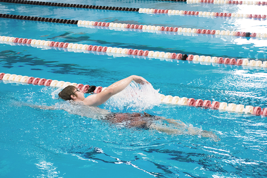 Intermediate swimming level