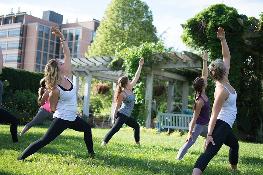 Sunrise Outdoor Yoga