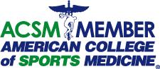 ACSM Member American College of Sports Medicine logo