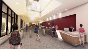 Nicholas Recreation Center Entry
