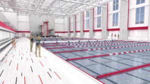Aquatic Center - Diving Well