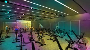 Cycling Studio - Lights